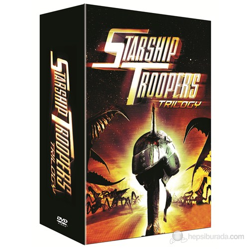 Starship Troopers Trilogy (Starship Troopers Üçleme Box Set) (3 Disc)