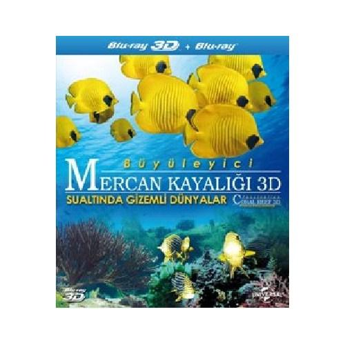 Büyüleyici Mercan Kayalığı 3D Sualtında Gizemli Dünyalar (Blu-Ray Disc)