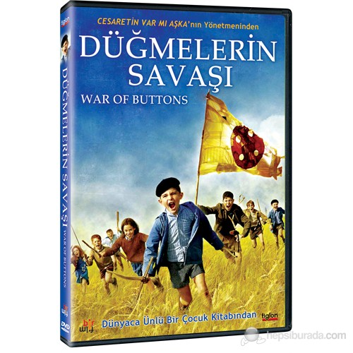 War Of The Buttons (Düğmelerin Savaşı) (DVD)