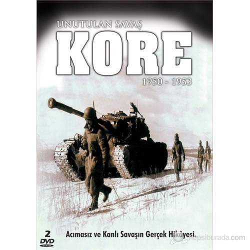 Korea: The Forgotten War (Kore Unutulan Savaş) (DVD)