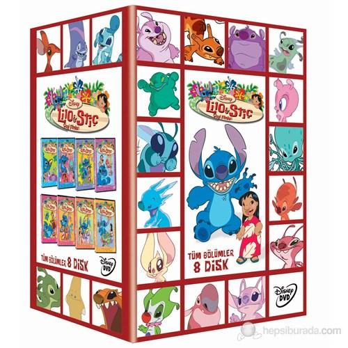 Lilo & Stitch Tüm Bölümler Box Set (8 Disk Özel Kutu)