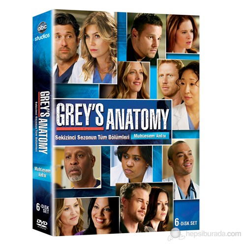 Grey's Anatomy Sezon 8 (6 Disk)