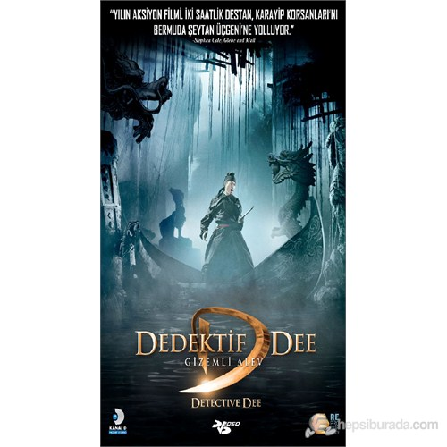 Dedective Dee & The Mystery Of The Phantom Flame (Dedektif Dee Gizemli Alev) (DVD)