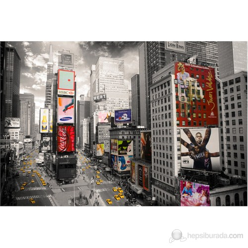 New York Times Square Ariel Maxi Poster