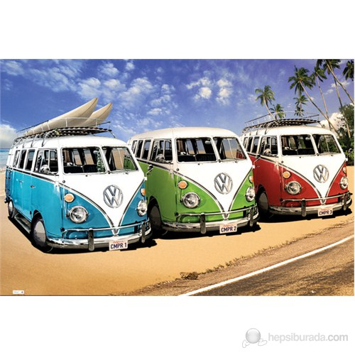 VW Campers Maxi Poster