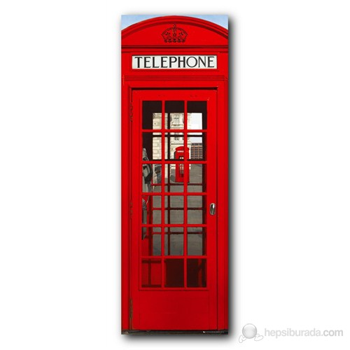 London Phonebox Door Poster