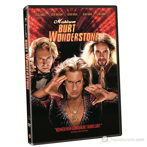 Incredible Burt Wonderstone (Muhteşem Burt Wonderstone) (DVD)