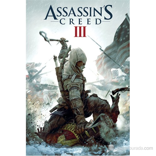 Assassins Creed III Cover Maxi Poster