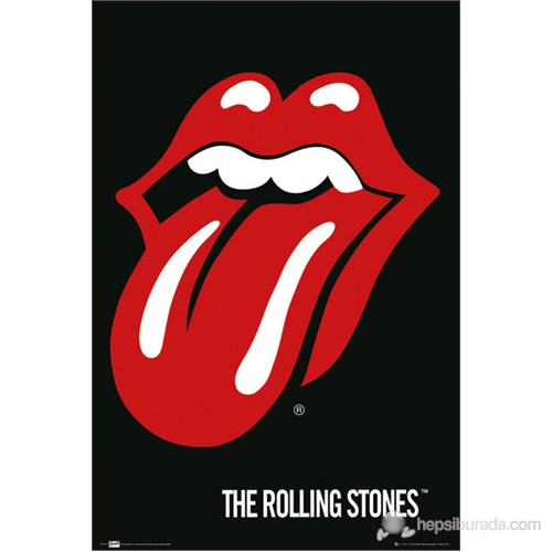 The Rolling Stones Lips Maxi Poster