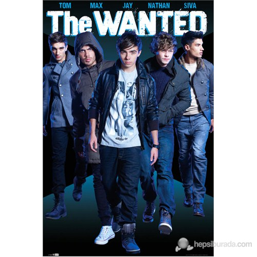 The Wanted Names Maxi Poster