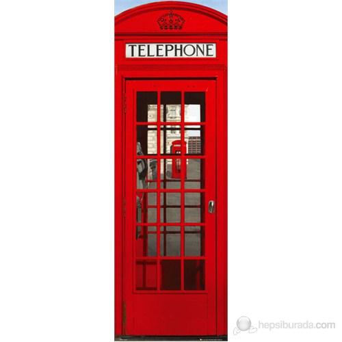 London Telephone Box Midi Poster