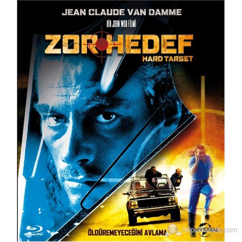 Hard Target (Zor Hedef) (Blu-Ray Disc)