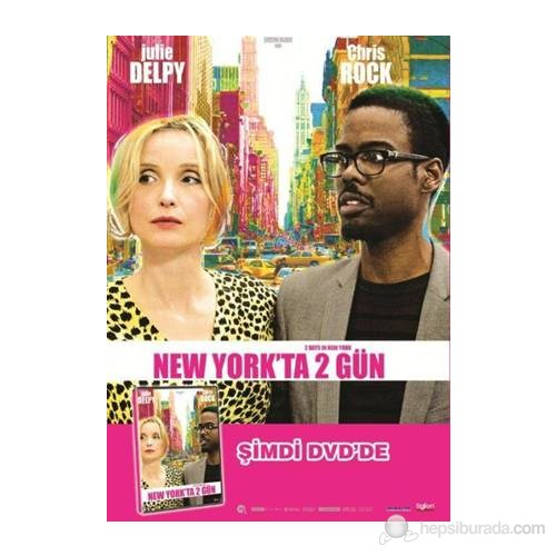 2 Days In New York (New York'ta 2 Gün) (DVD)