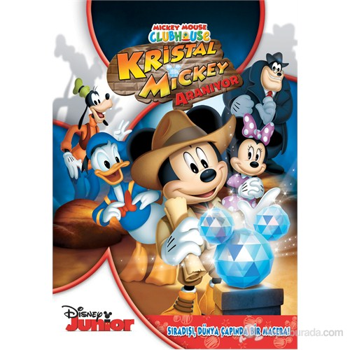 MMCH: Quest For The Crystal Mickey (Mickey Mouse Clubhouse: Kristal Mickey Aranıyor) (DVD)
