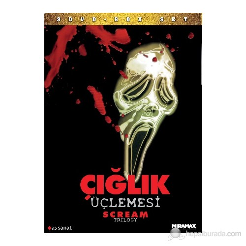 Scream Trilogy (Çığlık Üçlemesi) (DVD)