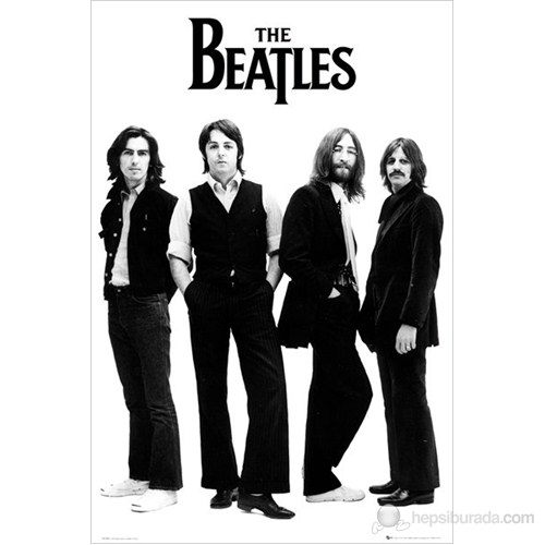 The Beatles White Maxi Poster