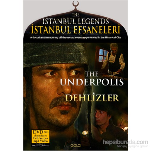İstanbul Efsaneleri – Dehlizler (The Istanbul Legends – The Underpolis) (DVD Plus)