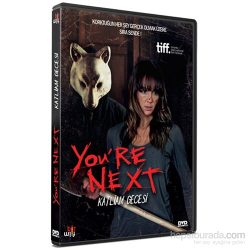 You're Next (Katliam Gecesi) (DVD)