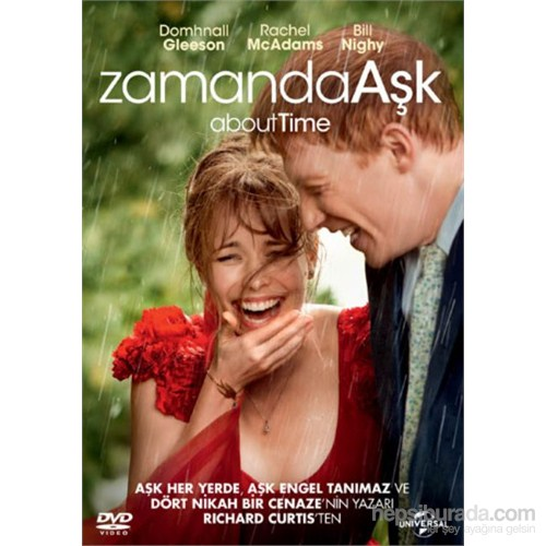 About Time (Zamanda Aşk) (DVD)