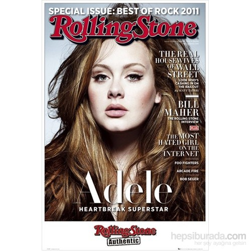 Rolling Stone Adele Maxi Poster