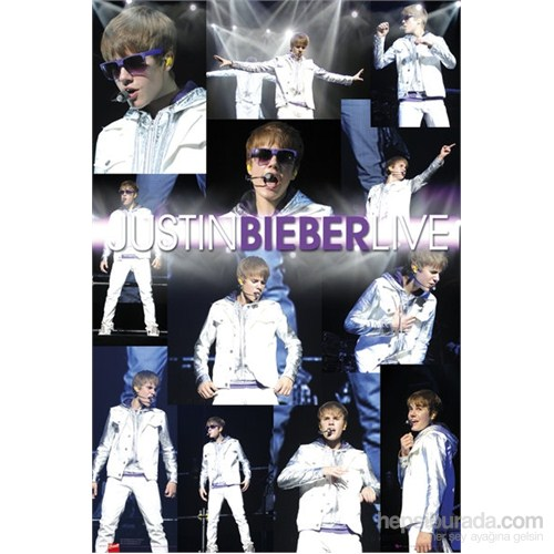 Justin Bieber Live Maxi Poster
