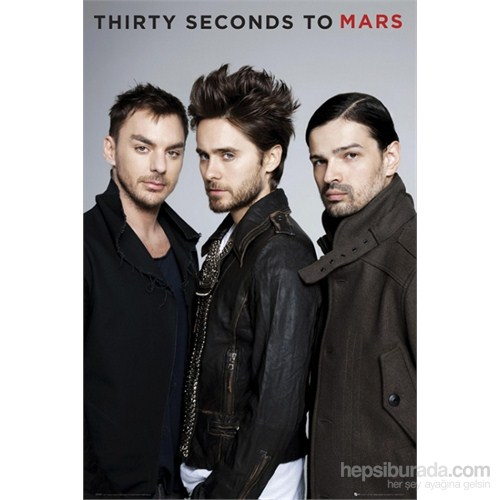 30 Seconds To Mars Band Maxi Poster