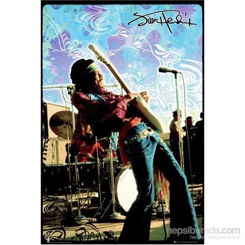 Jimi Hendrix Live Maxi Poster