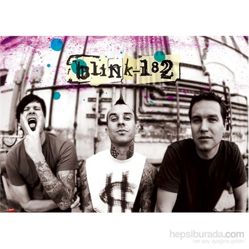 Blink 182 Splatter Maxi Poster