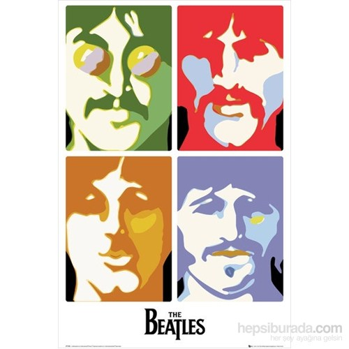 The Beatles Sea Of Science Maxi Poster