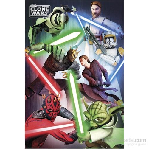 Clone Wars Good Vs Evil Maxi Poster