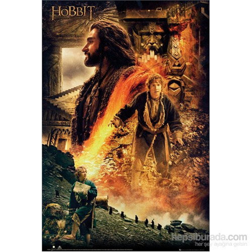 The Hobbit Desolation Of Smaug Fire Maxi Poster