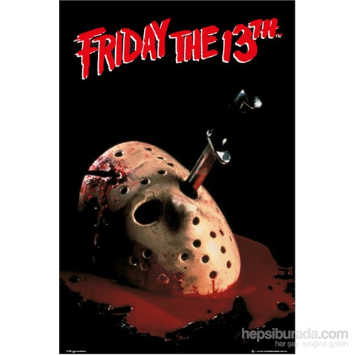 Friday The 13Th Mask Maxi Poster
