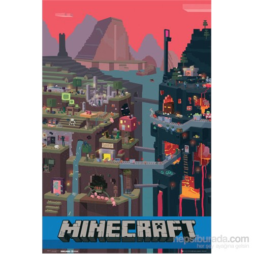 Minecraft World Maxi Poster