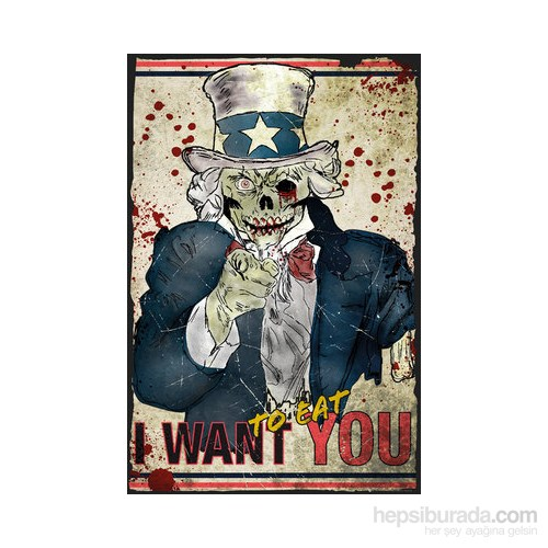 Zombie Uncle Sam Maxi Poster