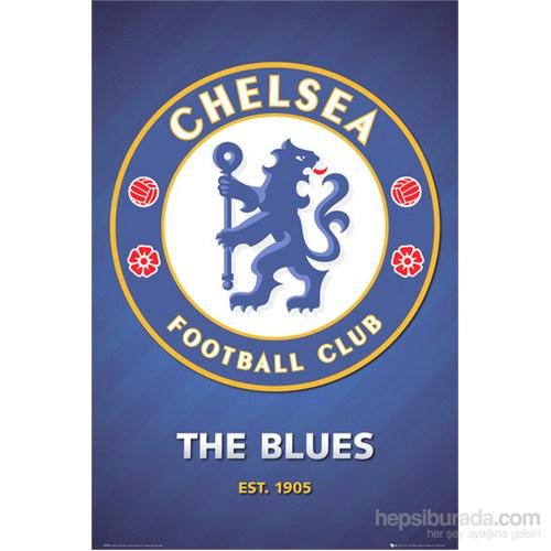 Chelsea Club Crest Maxi Poster