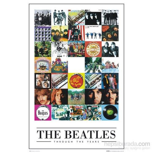 The Beatles Through The Years Maxi Poster