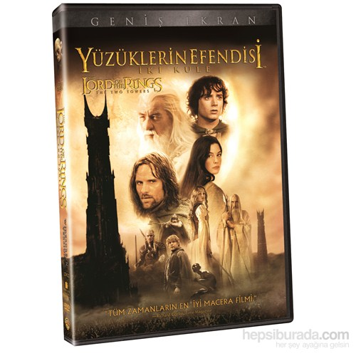 Lord Of The Rings: The Two Towers (Yüzüklerin Efendisi: İki Kule ) (DVD)