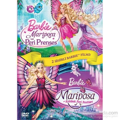 Barbie: Mariposa ve Peri Prenses - Kelebek Peri Dostları İkili Paket (DVD)