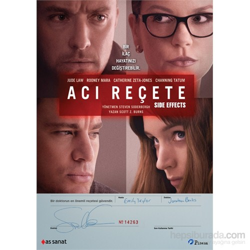 Side Effects (Acı Reçete) (DVD)