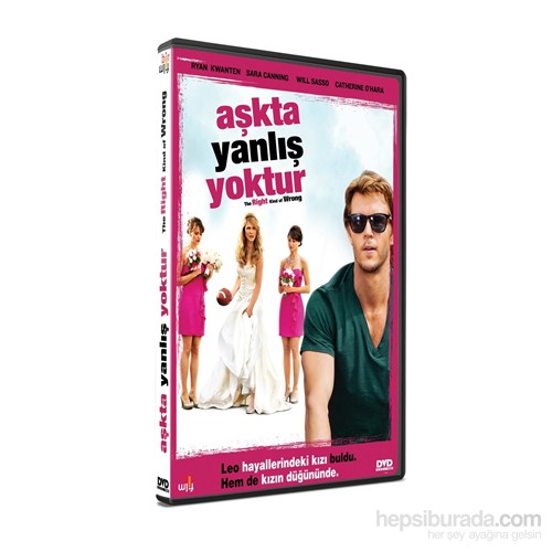 The Right Kind of The Wrong (Aşkta Yanlış Yoktur) (DVD)
