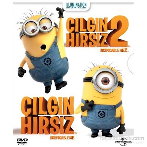 Despicable Me 1&2 Box Set (Çılgın Hırsız 1&2 Box Set) (DVD)