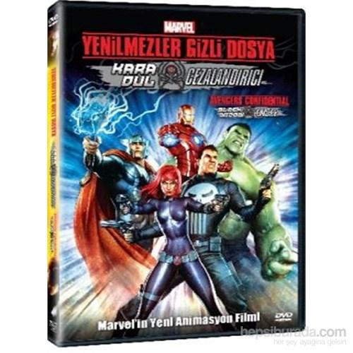 Avengers Confidential: Blackwidow & Punisher (Yenilmezler: Kara Dul ve Cezalandırıcı) (DVD)