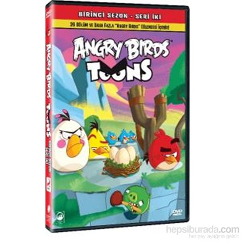 Angry Birds Toons Season 1 Volume 2 (Angry Birds Sezon 1 Seri 2) (DVD)