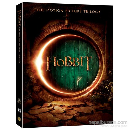 Hobbit Trilogy (Hobbit Üçleme) (DVD) (3 Disc)