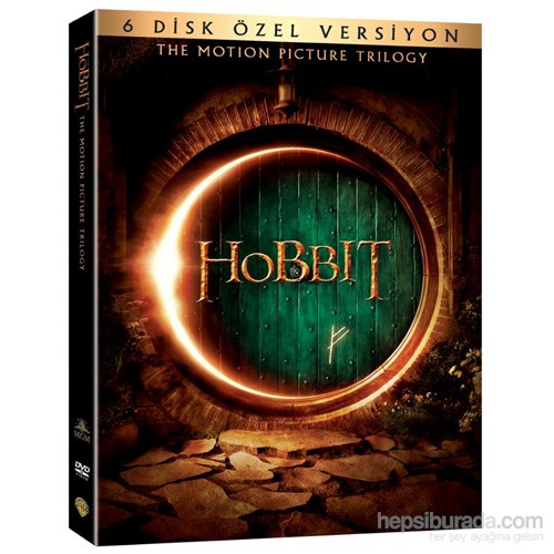 Hobbit Trilogy 6 Disc DVD Special Edition (Hobbit Üçleme 6 Disk DVD Özel Versiyon) (6 Disc)