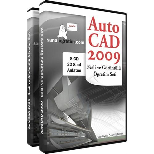 AutoCAD 2009 Seti (8 CD - 32 Saat Anlatım)
