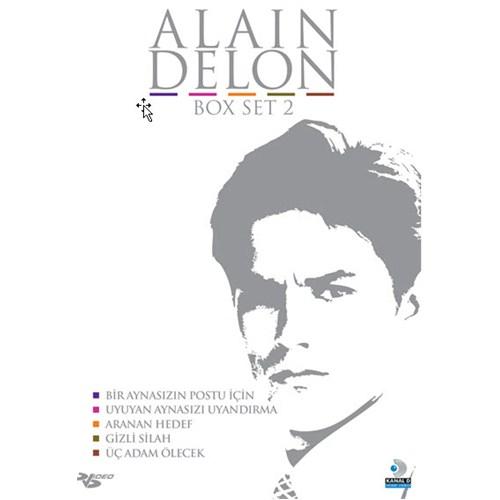 Alain Delon 5'li Box Set 2