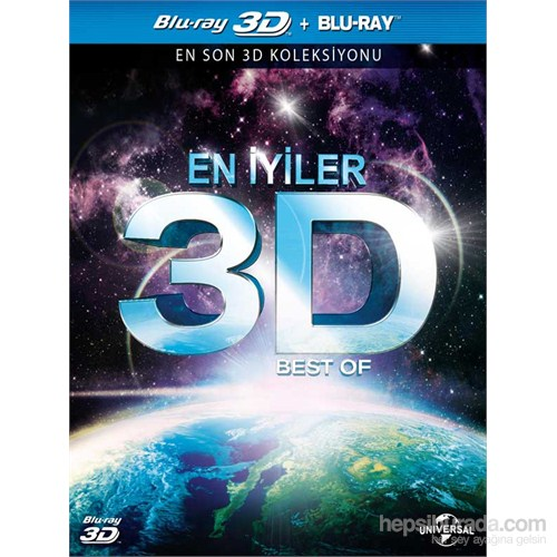 3D Best Of (3D En İyiler) (3D Blu-Ray Disc)