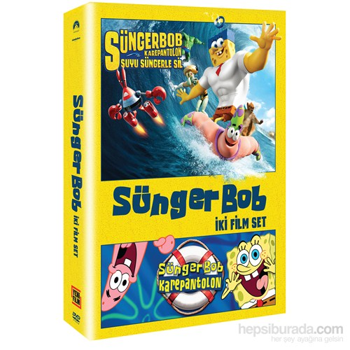Spongebob - 2 Movie Set (Süngerbob İki Film Set) (DVD) (2 Disk)