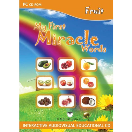 My First Miracle Words: Fruit